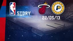 Miami - Indiana 22/05/2013. Playoff. Eastern Conference Finals. Gara 1