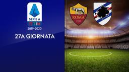 Roma - Sampdoria. 27a g,