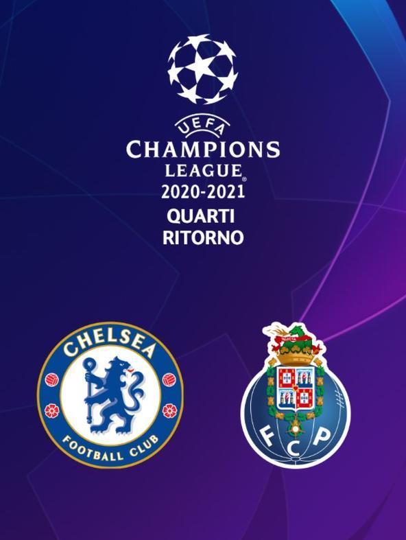 Chelsea - Porto. Quarti Ritorno
