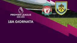 Liverpool - Burnley. 18a g.