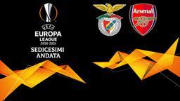 Benfica - Arsenal. Sedicesimi Andata