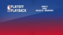 2020: Rockets - Warriors. Game 5