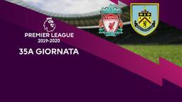 Liverpool - Burnley. 35a g.