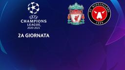 Liverpool - Midtjylland. 2a g.
