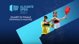 Alicante Open: Quarti F/M