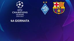 Dinamo Kiev - Barcellona. 4a g.