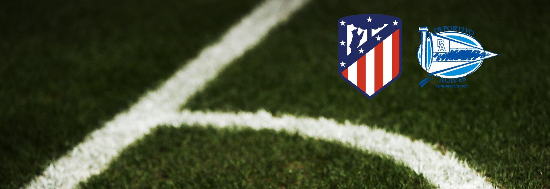Atletico Madrid - Alaves. 28a g.