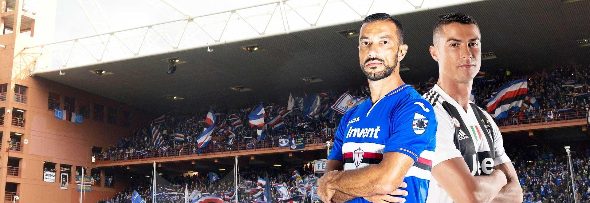 Sampdoria - Juventus. 38a g.