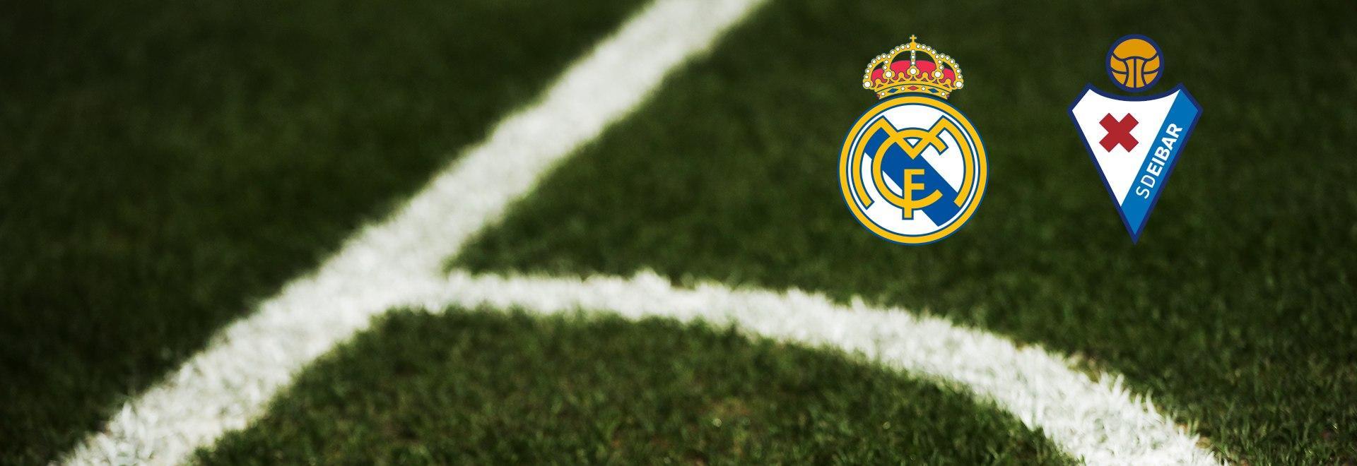 Real Madrid - Eibar. 28a g.