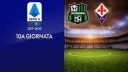 Sassuolo - Fiorentina. 10a g.