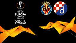 Villarreal - Dinamo Zagabria. Quarti Ritorno
