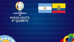 Argentina - Ecuador. 4° quarto