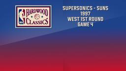 SuperSonics - Suns 1997. West 1st Round Game 4