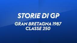 G. Bretagna, Donington 1987. Classe 250