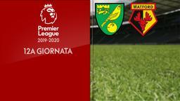 Norwich City - Watford. 12a g.