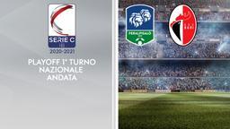 Feralpisalò - Bari. Playoff 1° turno Nazionale Andata