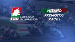 PreMoto3 Misano. Race 1