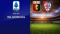 Genoa - Cagliari. 19a g.