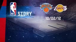 New York - LA Lakers 10/02/2012