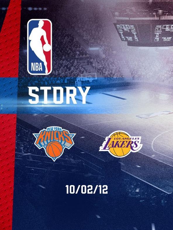 NBA: New York - LA Lakers 10/02/2012