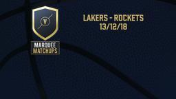 Lakers - Rockets 13/12/18