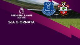 Everton - Southampton. 26a g.