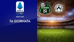 Sassuolo - Udinese. 7a g.