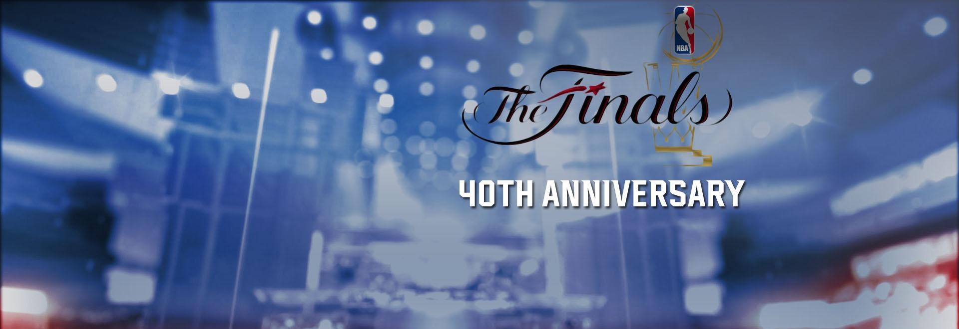 NBA Finals 40th Anniversary