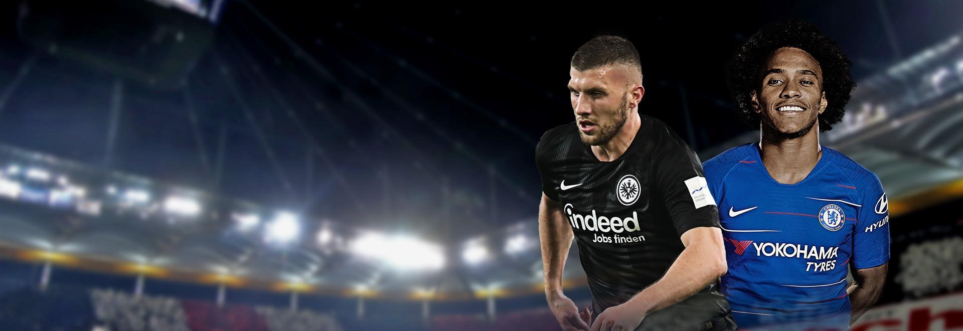 Eintracht F. - Chelsea. Semifinale. Andata