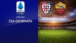 Cagliari - Roma. 33a g.