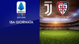 Juventus - Cagliari. 18a g.