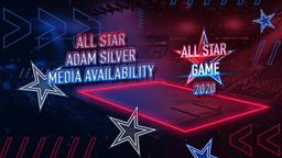 All Star Adam Silver Media Availability
